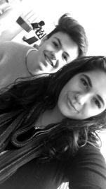 Blake and I.